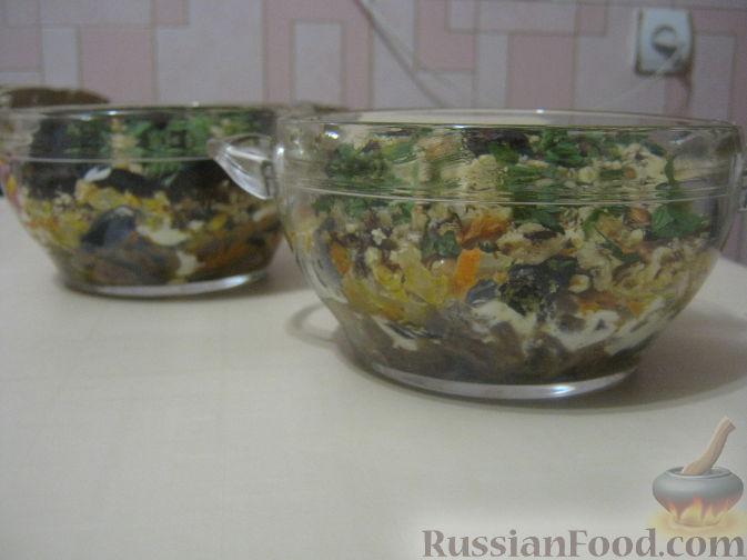 рецепт салата с морковью и орехами