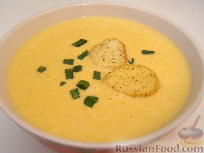 сырный суп с черешковым сельдереем
