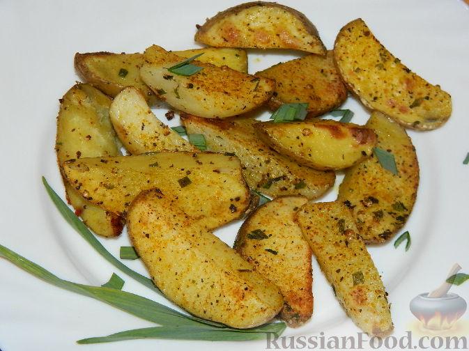 картофель на гарнир в духовке рецепты