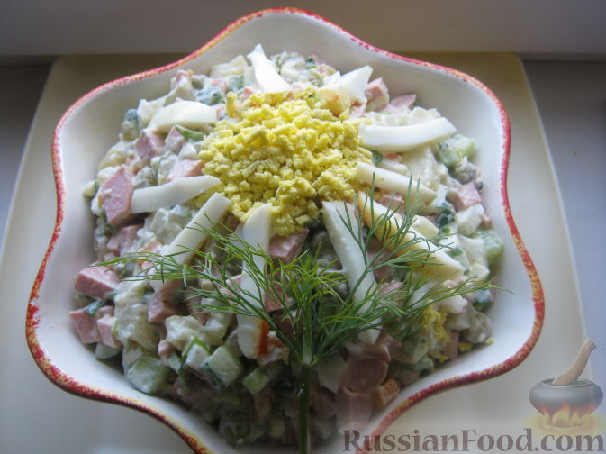 "Рецепт Салат ""Столичный"""