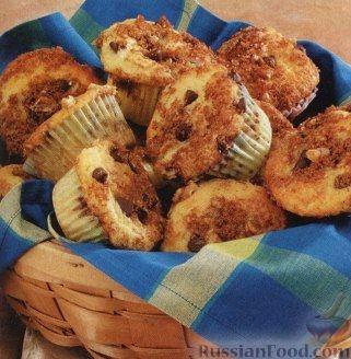 Рецепт Ванильные кексы с шоколадом