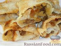 Фото к рецепту: Ленивый яблочный штрудель