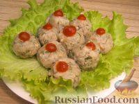 Фото к рецепту: Фрикадельки грибные