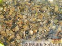 Фото приготовления рецепта: Макароны с грибами - шаг №4