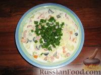Фото к рецепту: Холодный суп с кефиром
