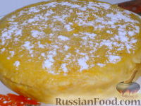 Фото к рецепту: Торт-запеканка из тыквы в микроволновке