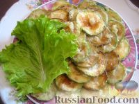 Фото к рецепту: Жареные кабачки