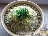 Фото к рецепту: Салат Оливье особый