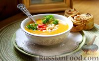 Фото к рецепту: Карри-суп с нутом