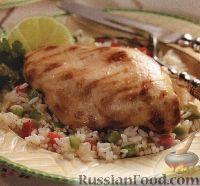 Фото к рецепту: Филе на гриле с овощным соте