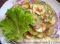 Фото приготовления рецепта: Жареные кабачки - шаг №4