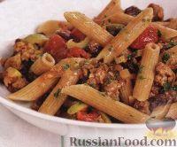 Фото к рецепту: Макароны с мясным соусом