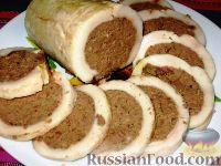 Фото к рецепту: Печеночный паштет в сале