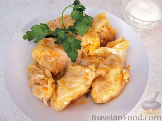 Фото приготовления рецепта: Песочный пирог с баклажанами, грибами и сыром - шаг №16