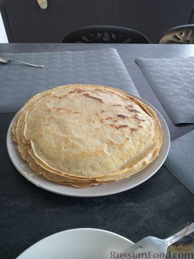 Фото приготовления рецепта: Тыквенный крем-суп с сухариками - шаг №16