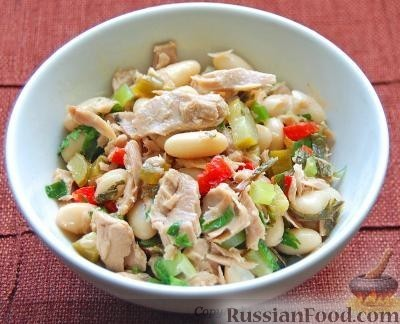 Салат с куриной грудкой рецепты с фото на RussianFoodcom
