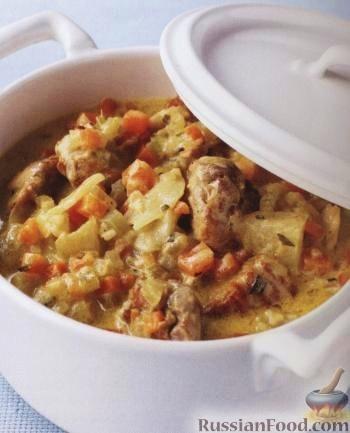 Фото приготовления рецепта: Творожно-сметанный десерт с апельсином и кукурузными хлопьями - шаг №10