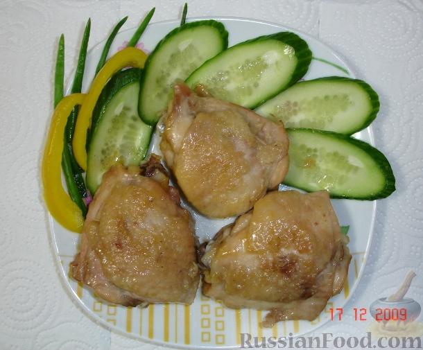Рецепт Жареные куриные бедрышки