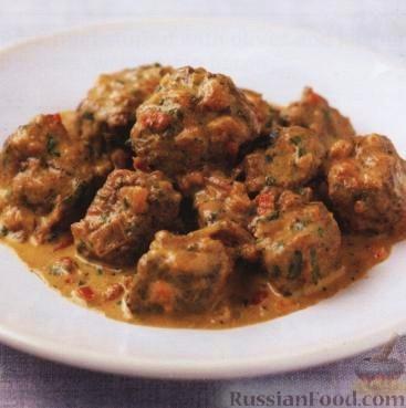 Рецепт Индийское карри с говядиной
