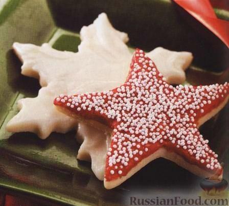 Рецепт Фигурное сливочное печенье