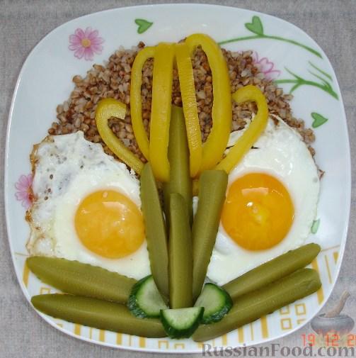 Рецепт Веселый завтрак