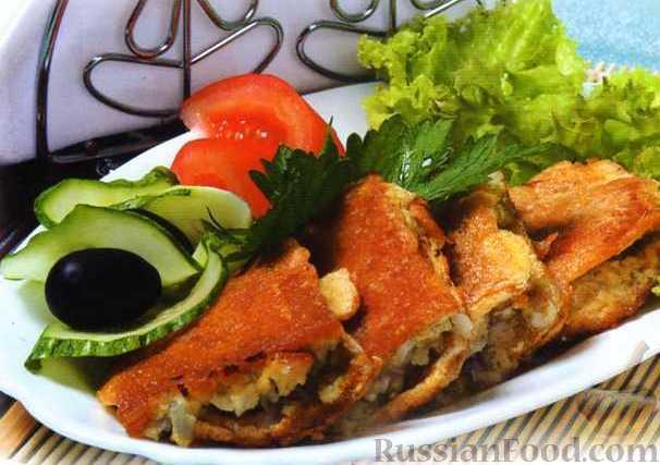 Рецепт Пирожки закусочные