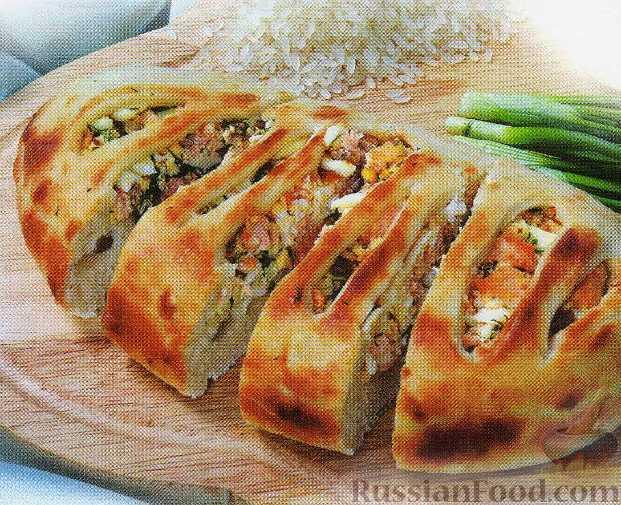 Тесто на пирог с капустой и рыбой в духовке рецепт с 44