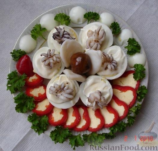 Рецепт Праздничная закуска