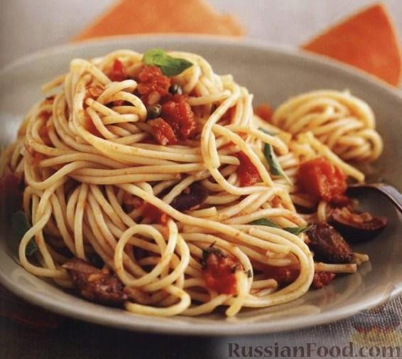 Рецепт Спагетти «путанеска»