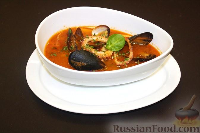 Рецепт Зуппа де пеше (Zuppa di pesce)