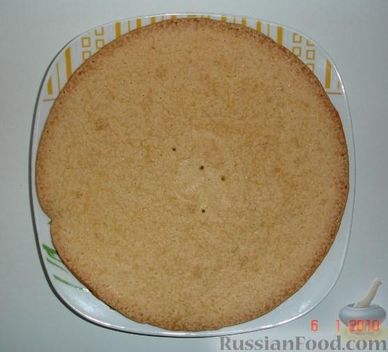Фото приготовления рецепта: Лимонный пирог на гречневой муке - шаг №6