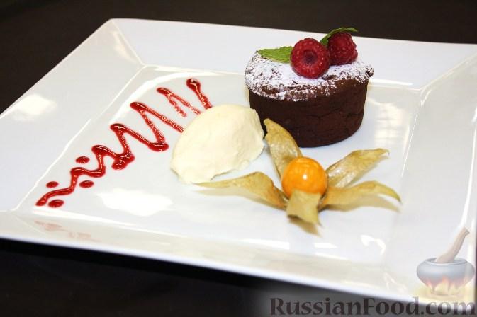 шоколадный торт с фланом рецепт