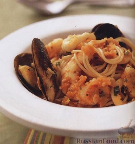Рецепт Спагетти маринара