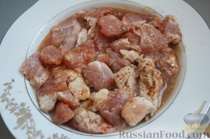 Фото приготовления рецепта: Песочное печенье из жареной муки - шаг №5