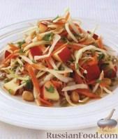 Фото к рецепту: Салат из капусты с арахисом