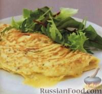 Фото к рецепту: Первоклассный омлет