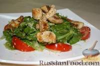 Фото к рецепту: Салат с куриным филе и спаржей