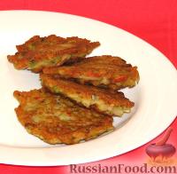 Фото к рецепту: Крабовые оладьи