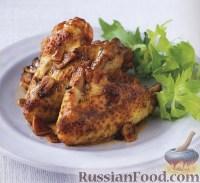 Фото к рецепту: Куриные крылья с чесноком