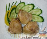 Фото к рецепту: Жареные куриные бедрышки