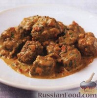 Фото к рецепту: Индийское карри с говядиной