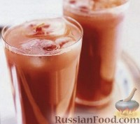 Фото к рецепту: Коктейль Шипучий Дюбонне