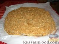 Фото приготовления рецепта: Торт Наполеон - шаг №9