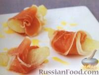Фото к рецепту: Ветчина с грушами