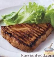 Фото к рецепту: Остро-сладкий тунец