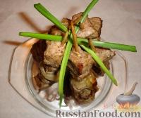"Фото к рецепту: Жареная свинина с луком  ""Вигвам"""