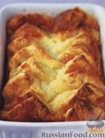 Фото к рецепту: Хлебный пудинг с джемом