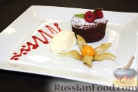Фото к рецепту: Шоколадный флан