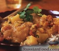 Фото к рецепту: Курица с карри «Полковник Бенджамин»