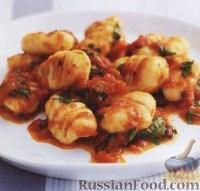 Фото к рецепту: Картофельные ньокки